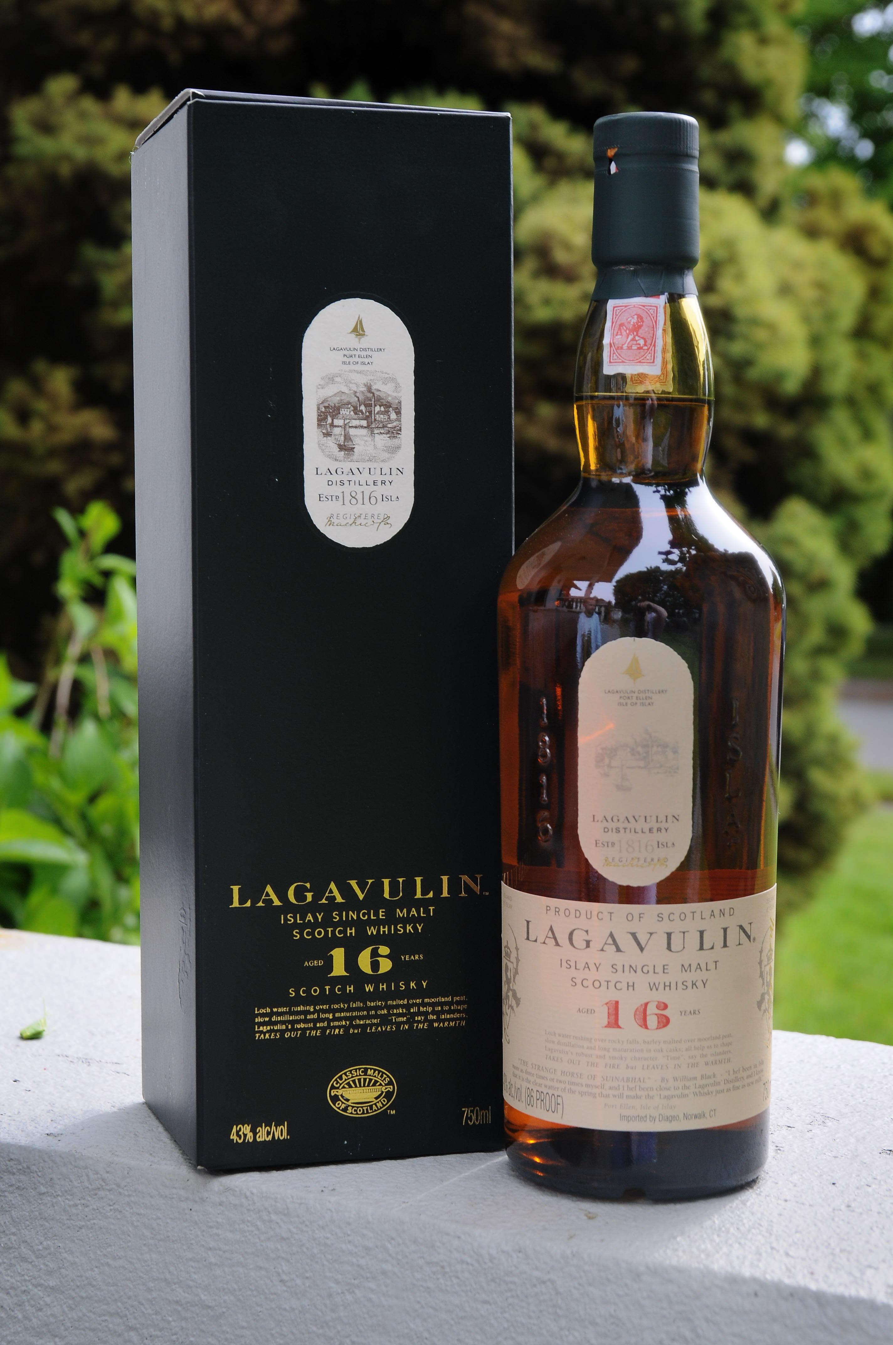 Lagavulin 16 Year Old Review Spokane Whiskey Club